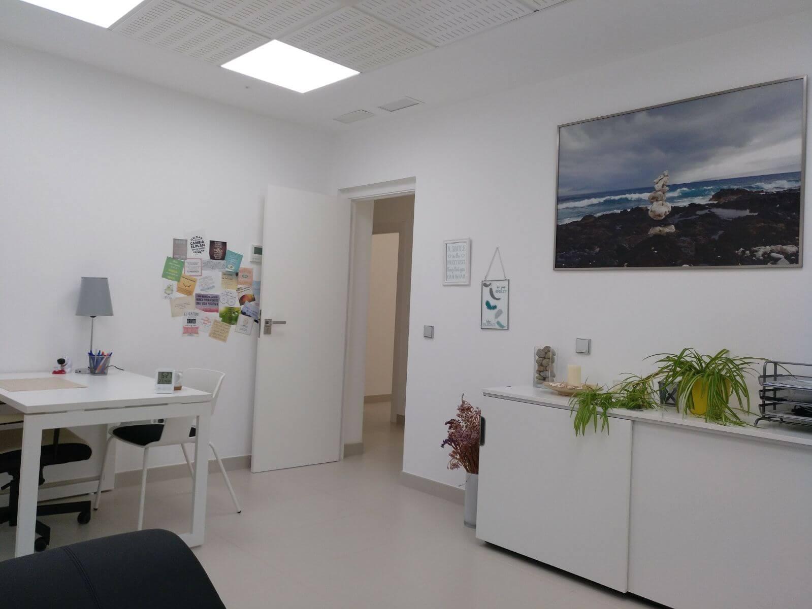 Fotografía interior Centro de Psicología. Psicóloga en Sevilla Patricia Garzón